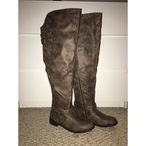 🌸SPRING CLEAROUT🌼 over the knee riding boots